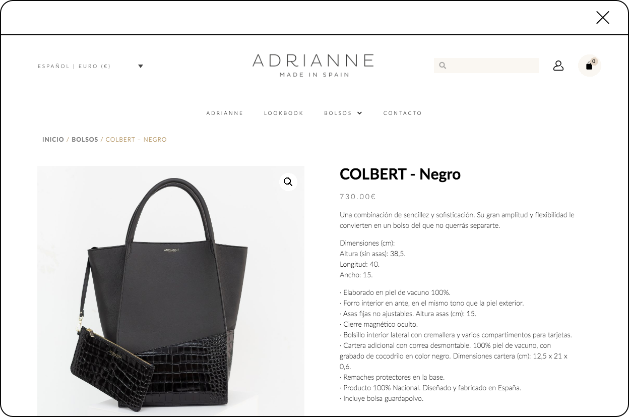 web-producto-adrianne